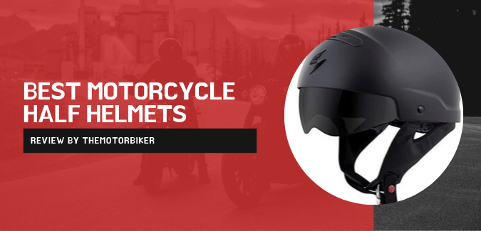 best motorcycle half helmet