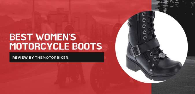 Best Women's Motorcycle Boots [Females' First Choice]