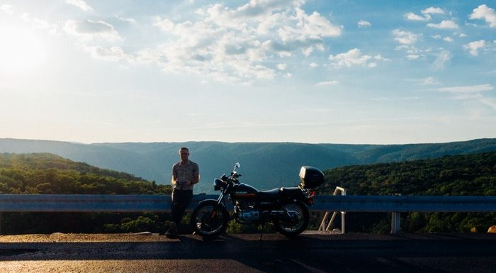WHY RIDE A MOTORCYCLE? Adventures