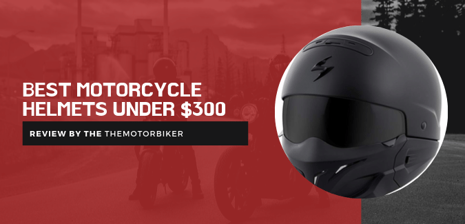 best motorcycle helmet under 300