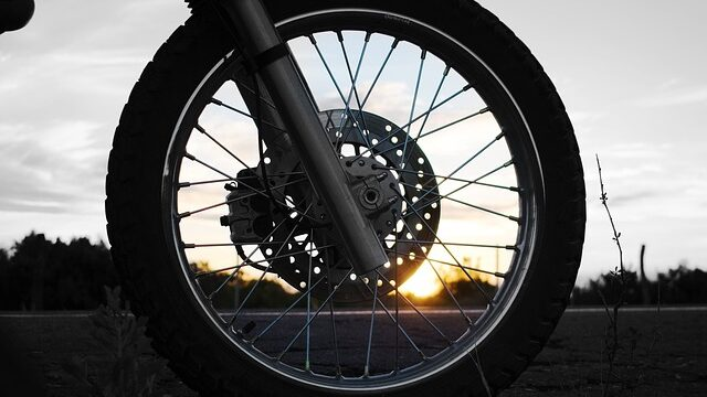 How to clean motorcycle rims